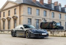 A beautiful Porsche 911 R is heading to auction
