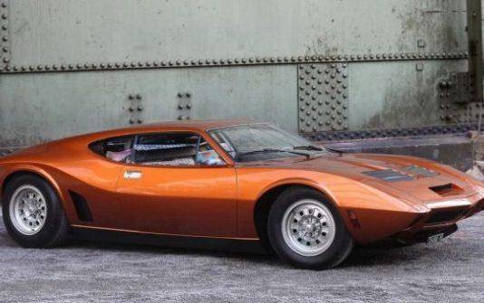 A magnificent 1969 AMC AMX/3 heads to auction