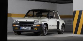 A rare Renault 5 Turbo 2 is heading to auction