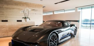 An Aston Martin Vulcan is up for sale