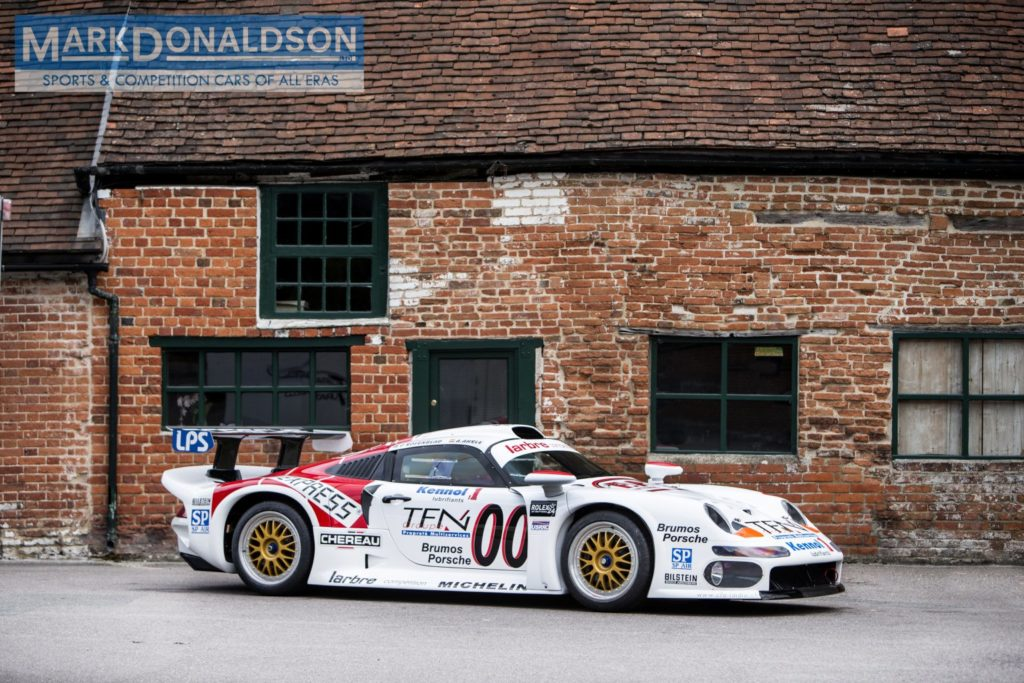 An extremely rare street-legal Porsche 993 GT1 is up for sale