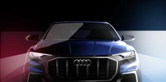 Audi teases the Q8 E-tron concept
