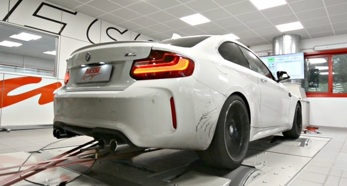BMW M2 by BIESSE Racing on the dyno