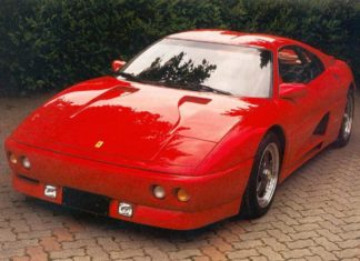 Car Legends Ferrari 348 Zagato Elaborazione