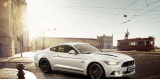 Ford Mustang Black Shadow and Blue Editions