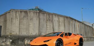 Lamborghini Huracan Spyder by VOS