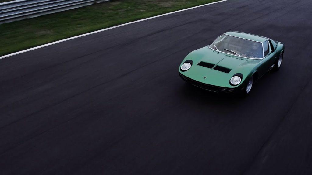 Lamborghini has restored the first Miura P400 SV