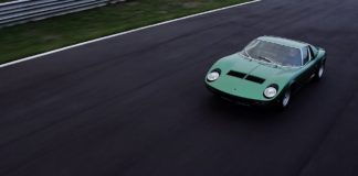 Lamborghini has restored the first Miura P400 SV