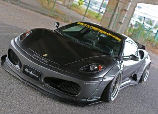 Liberty Walk has prepared a new body kit for the Ferrari F430