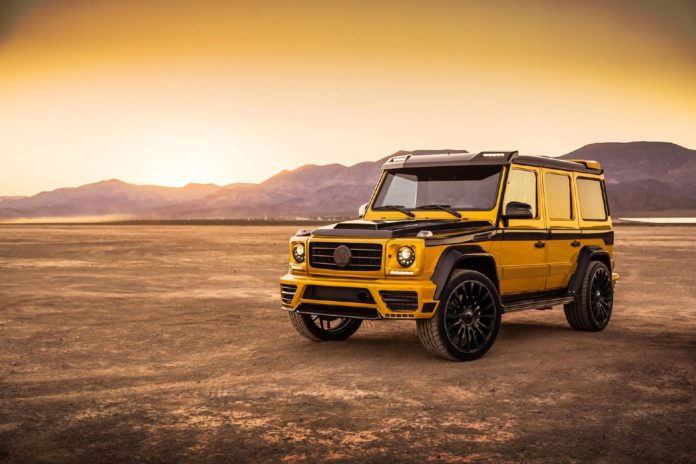 Mercedes G-Class by Mansory