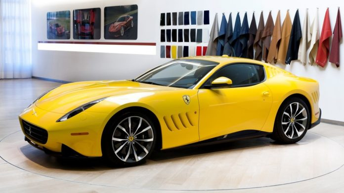 New information on the Ferrari SP 275 RW Competizione