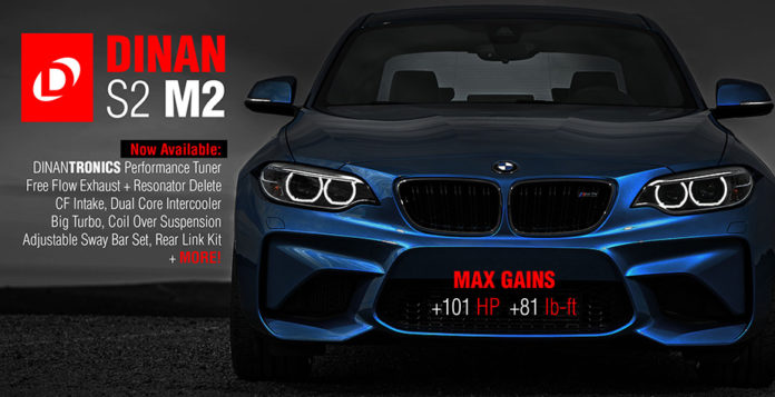 New tuning package for the BMW M2 by Dinan