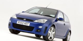Old Concept Cars Ford Focus RS8