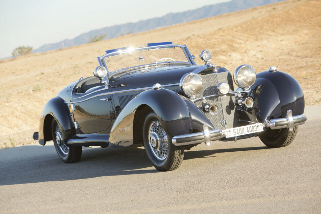 One-off Mercedes-Benz 540K Special Roadster heads to auction