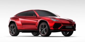 The Urus will be Lamborghini's first plug-in hybrid car
