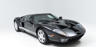The first prototype of the Ford GT is heading to auction