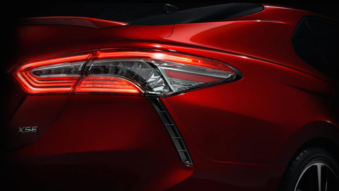 Toyota teases the new Camry