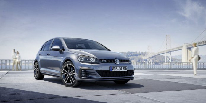 2017 Volkswagen Golf GTD facelift