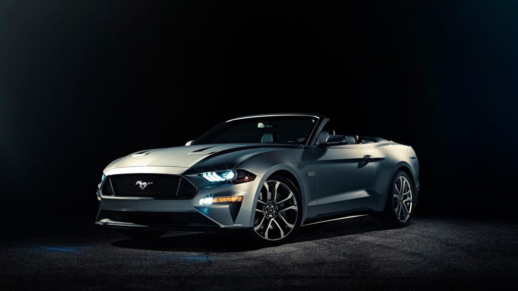 2018 Ford Mustang Convertible facelift