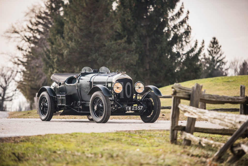 A 1928 Bentley 4½-Litre Le Mans Sports is heading to auction