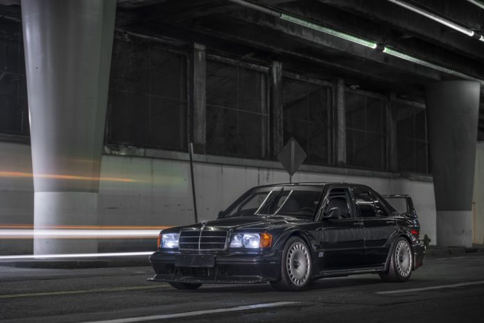 A 1990 Mercedes 190E 2.5-16 Evo II was sold for $220 k at an auction