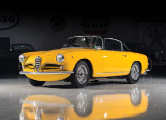 A gorgeous 1956 Alfa Romeo 1900C SS Coupe is heading to auction