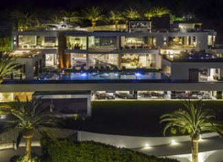 A luxury house is up for sale including 12 expensive cars for $250 million