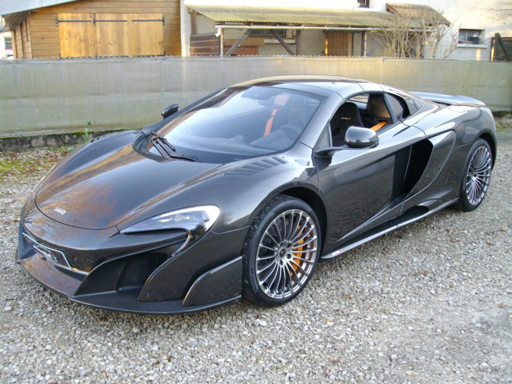A rare McLaren 675LT Spider Carbon Series is up for sale