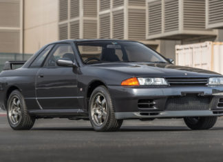 A stock 1989 Nissan Skyline GT-R R32 is heading to auction