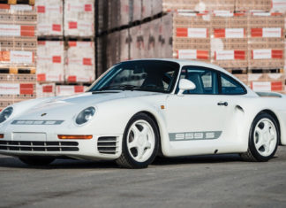 A very rare Porsche 959 Sport is heading to auction