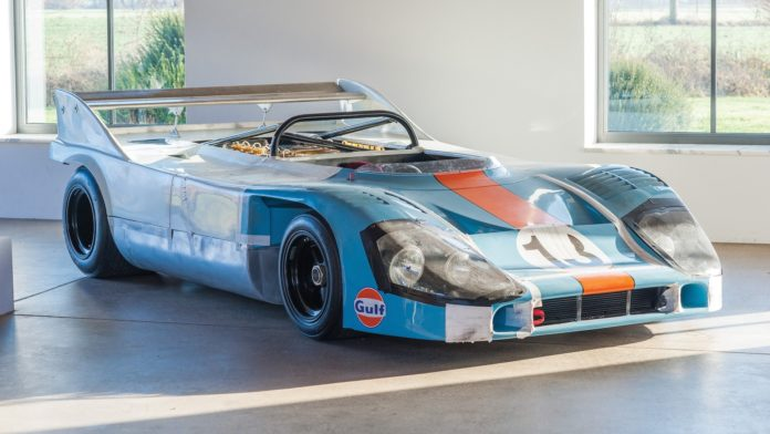 An original Porsche 917 is heading to auction