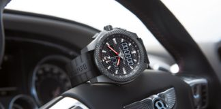Bentley Continental Supersports watch by Breitling