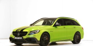 Brabus 650, a modified Mercedes C63 S AMG