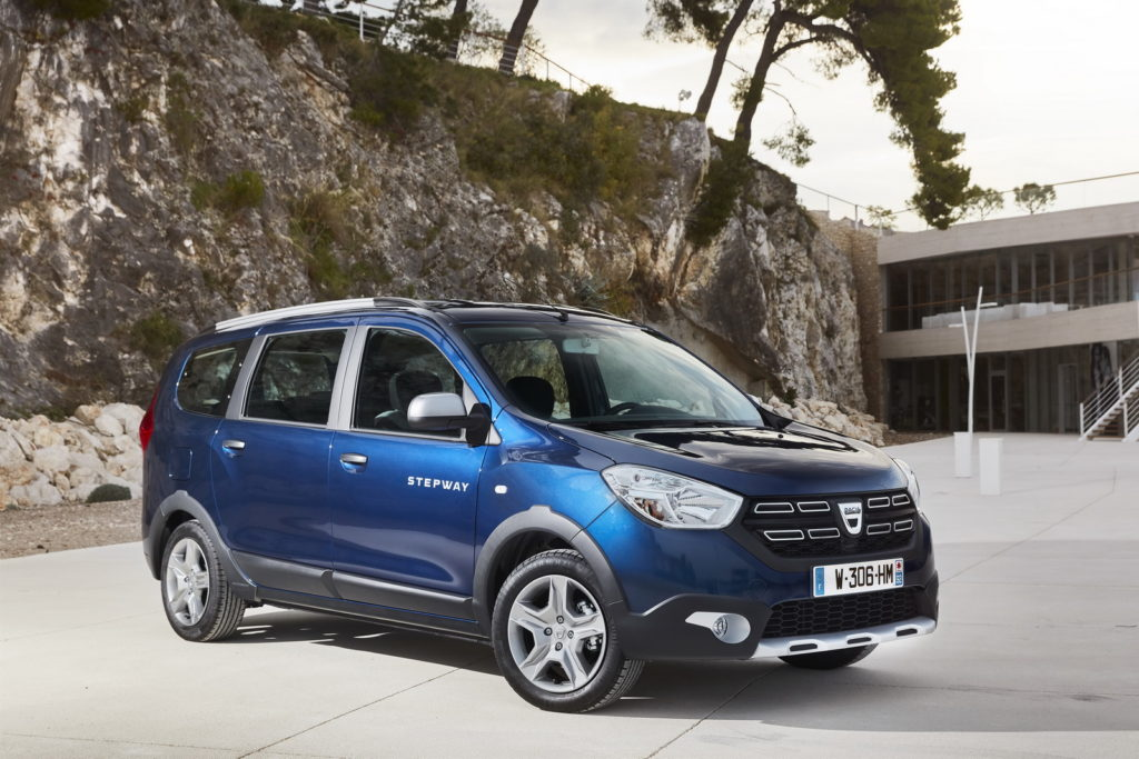 Dacia presented the facelift of the Dokker and the Lodgy