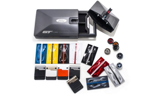 Ford GT's carbon fiber Ordering Kit