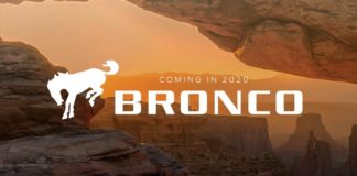 Ford will release the new Bronco in 2020