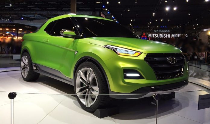 The Hyundai Creta Pickup will be released on the Brazilian market in 2018