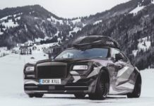 Jon Olsson's Rolls Royce Wraith