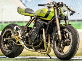 Kawasaki Cafe Dragstar by Custom Wolf