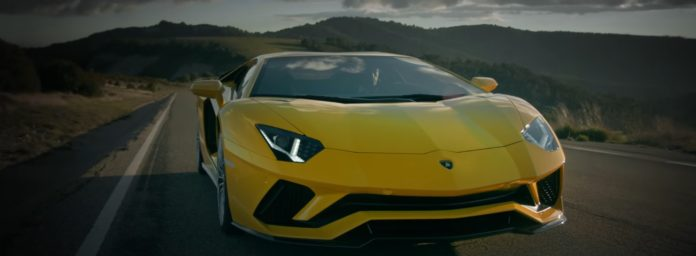 Lamborghini presented two promo videos for the Aventador S