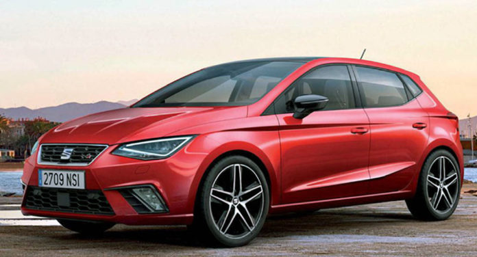 Leaked images of the new SEAT Ibiza