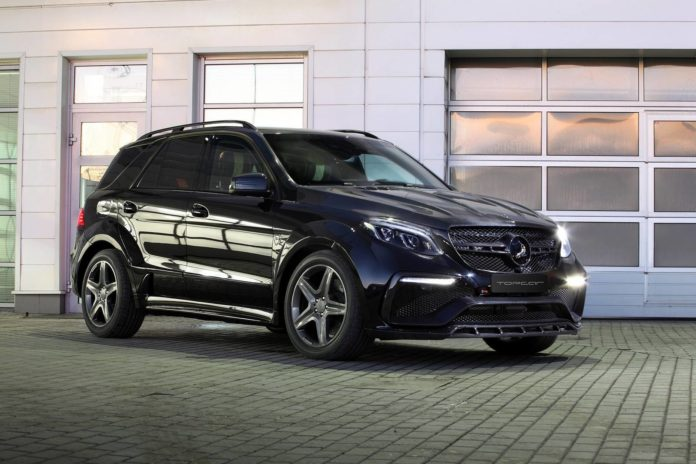 Mercedes-Benz GLE Guard Inferno by Topcar