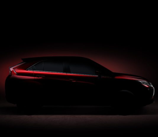 Mitsubishi released a teaser photo of their new SUV