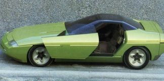 Old Concept Cars Chevrolet Corvette Ramarro