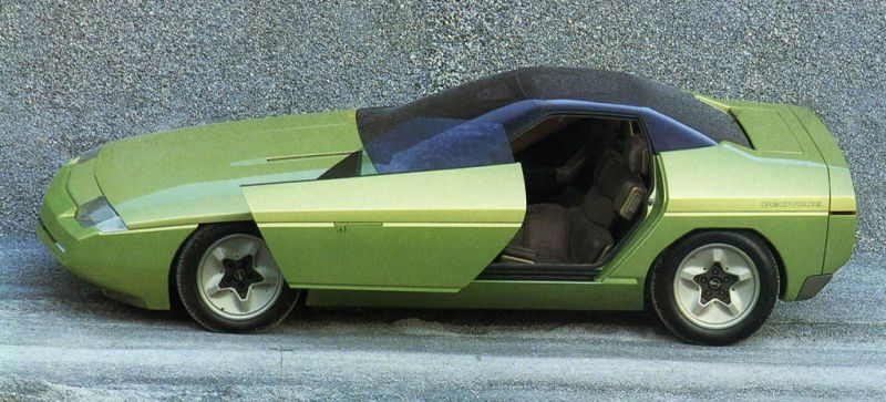 Old Concept Cars Chevrolet Corvette Ramarro