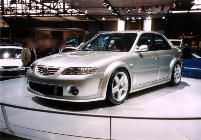Old Concept Cars Mazda 626 MPS Concept