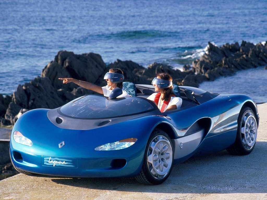 Old Concept Cars Renault Laguna Concept