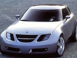 Old Concept Cars Saab 9X