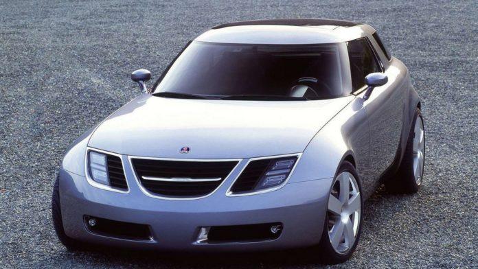 Old Concept Cars Saab 9X