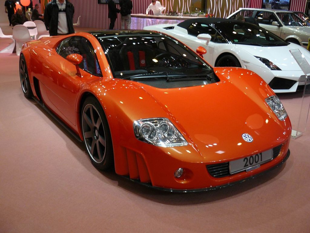 Old Concept Cars Volkswagen W12